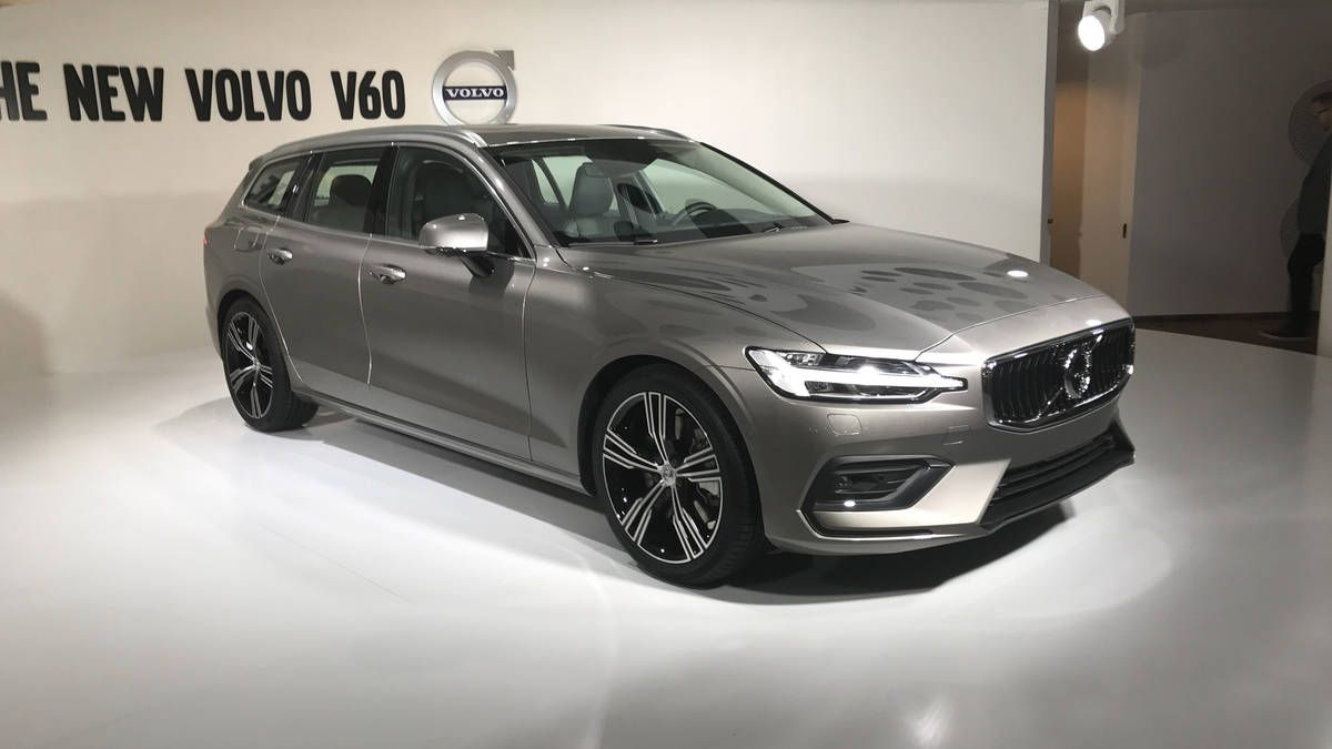 New Volvo V60 Launches Volvo V60 Volvo Volvo S60
