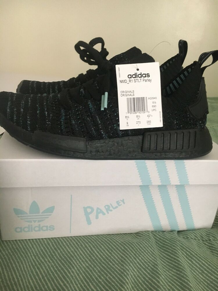 brand new 37c69 a0786 Adidas NMD R1 STLT Parley PK Limited Edition Size 9 (Pre-Owned  NDS)