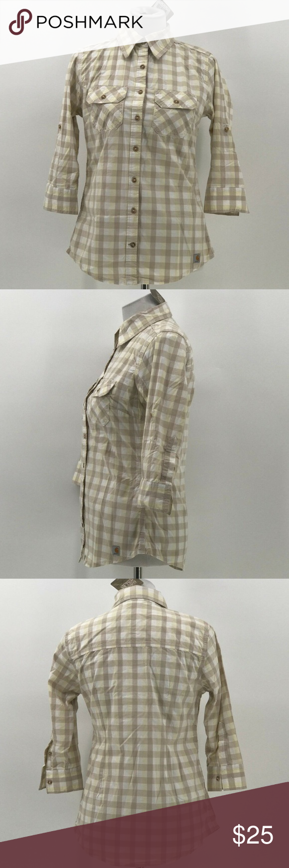 carhartt womens button up shirt sz XS NWT carhartt womens button up shirt sz XS 0-2 plaid 3/4 sleeve NWT  CU54 Carhartt Tops Button Down Shirts #carharttwomen carhartt womens button up shirt sz XS NWT carhartt womens button up shirt sz XS 0-2 plaid 3/4 sleeve NWT  CU54 Carhartt Tops Button Down Shirts #carharttwomen