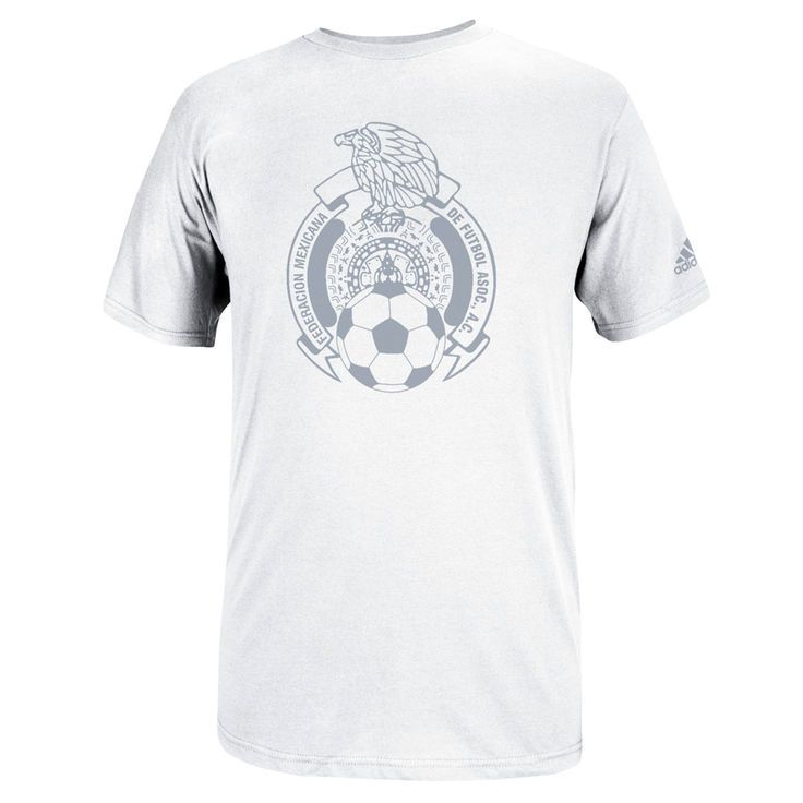 726d7b89a Mexico adidas Futbol Crest T-Shirt - White -  24.99