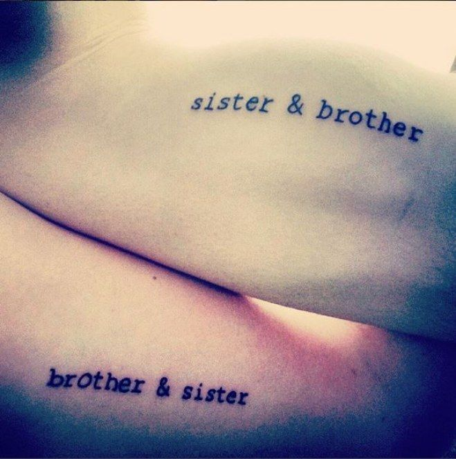das perfekte matching tattoo f r geschwister tattoo pinterest tattoo tatoos and sibling. Black Bedroom Furniture Sets. Home Design Ideas