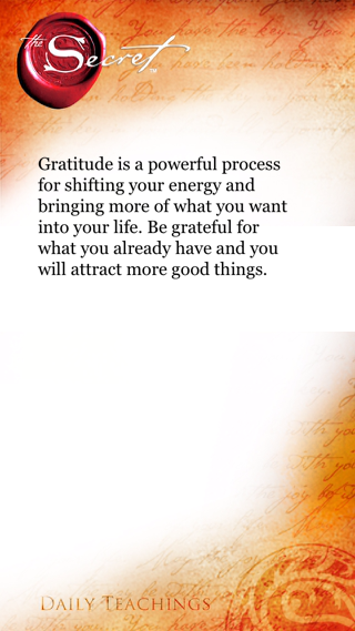 Gratitude Is A Powerful Process For Shifting Your Energy And Bringing More  Of What You Want