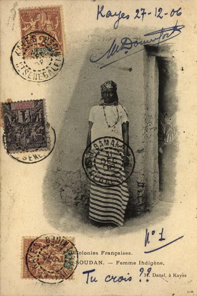 Soudan - Femme Indigène - 1906
