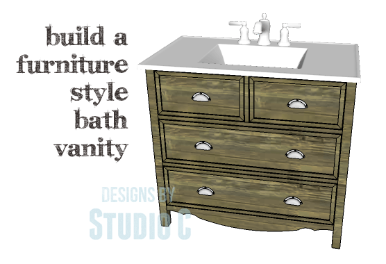 Diy Plans To Build A Furniture Style Bath Vanity Copy