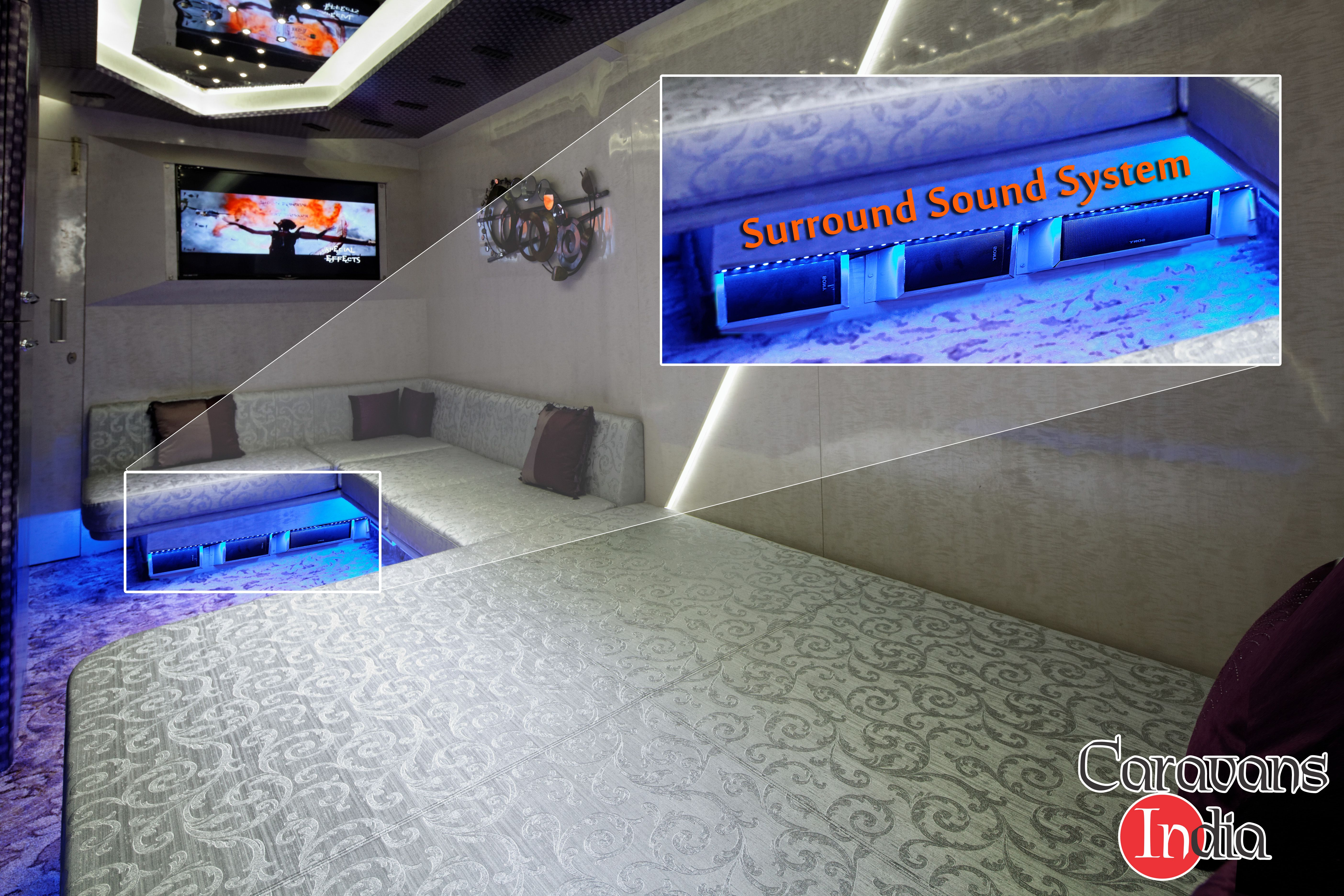 Entertainment Is Incomplete Without Advanced Surroundsoundtechnology Caravansinindia Takes Care Of It So That You Can E Surround Sound Entertaining Enjoyment