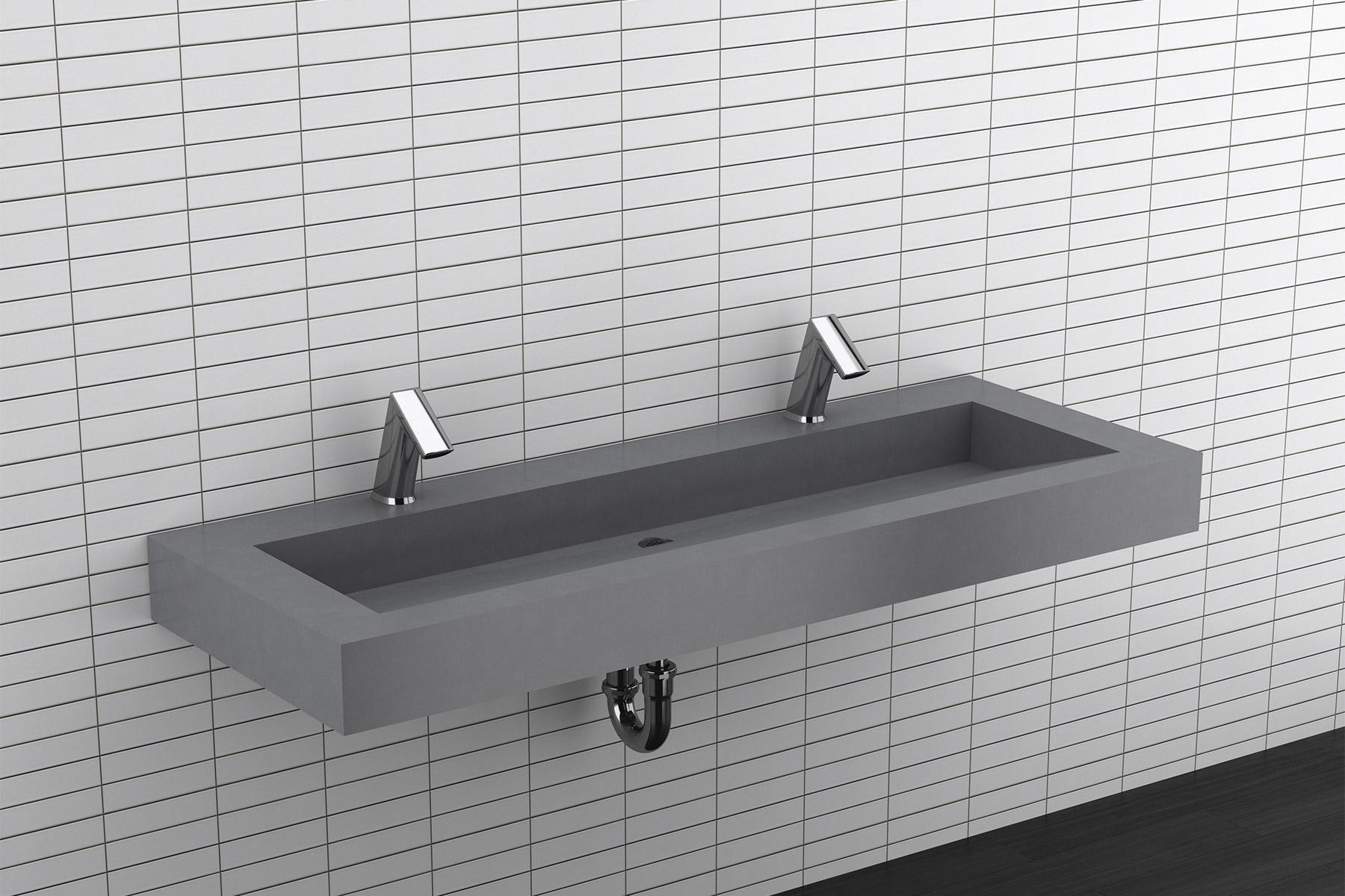 Designer Series Corian Sinks Sloan Commercial Bathroom Sinks