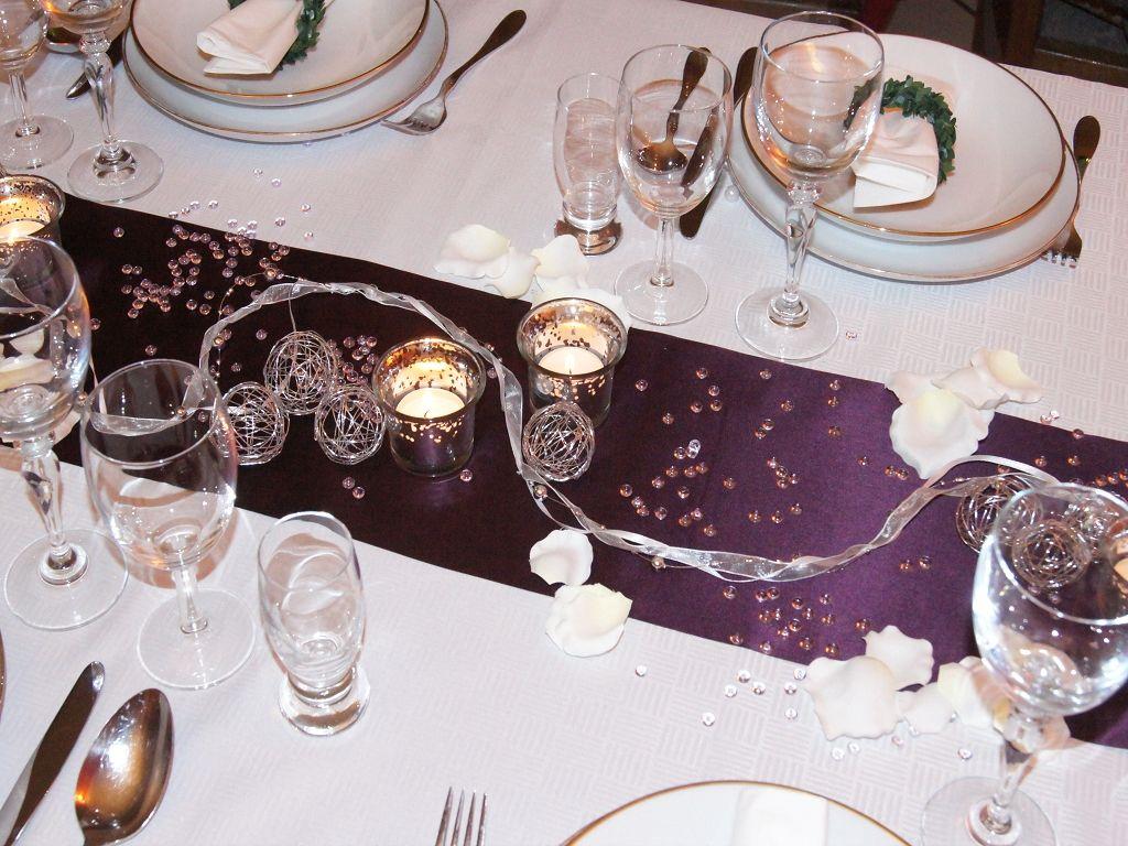 Tischdeko weihnachten lila  tischdeko orchideen hochzeit - Google-Suche | Dekoration ...
