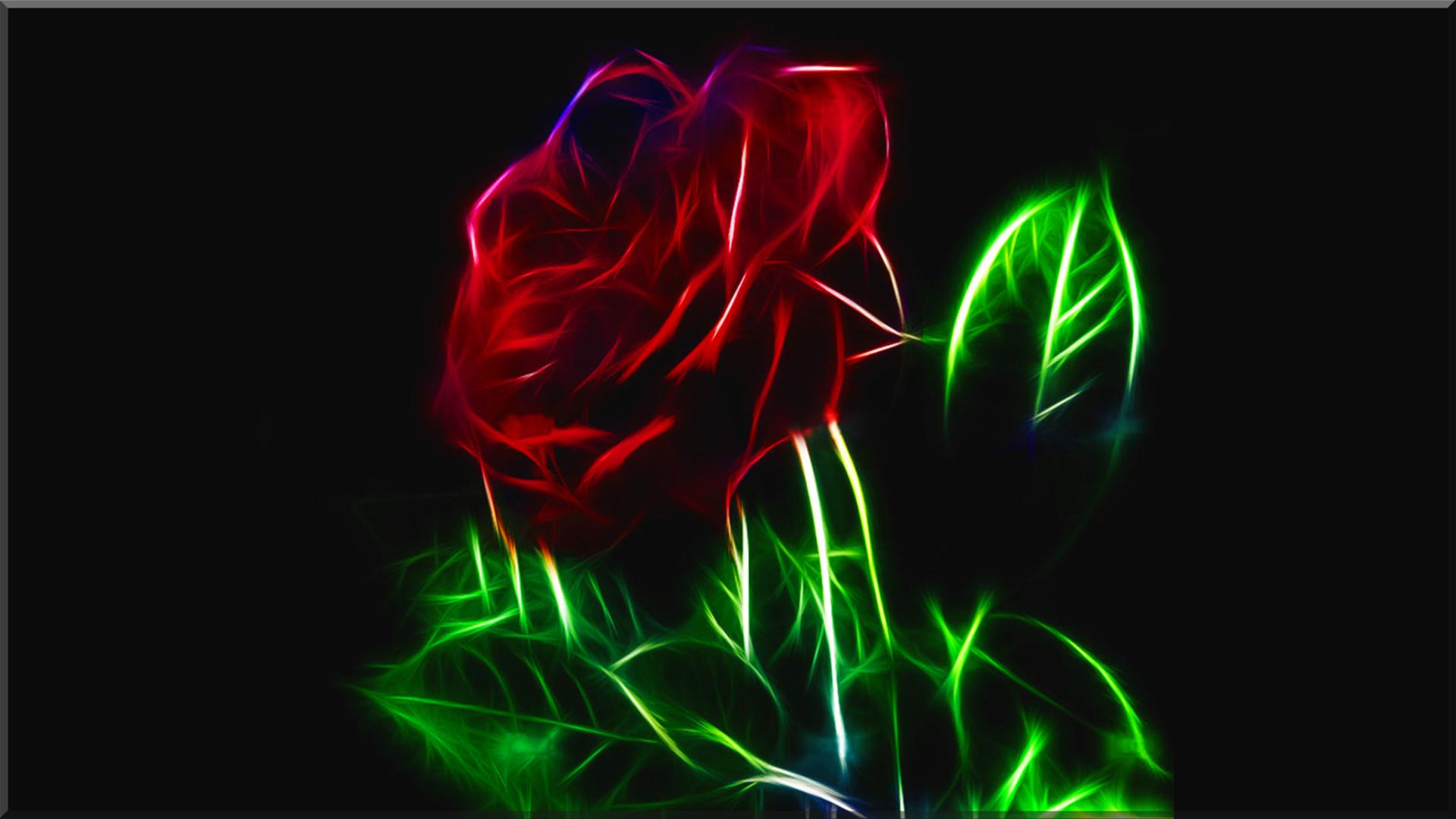 Fractal Rose Wall Alphacoders Com Fractals Fractal Art Fractal Images
