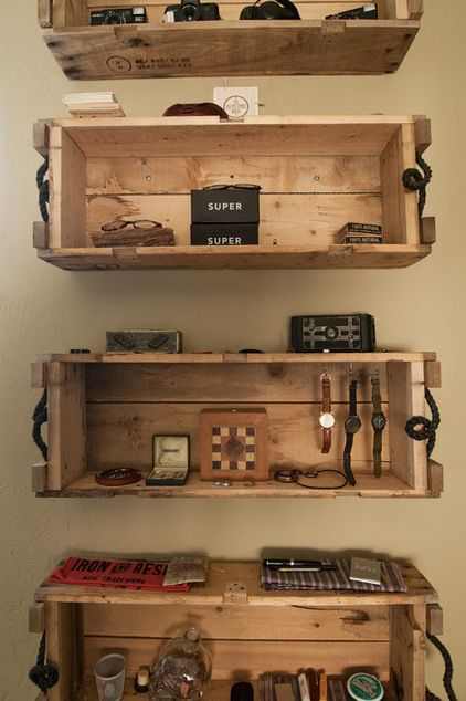Wooden Crate Wall Shelves Wooden Crates Like These Are Easy Finds