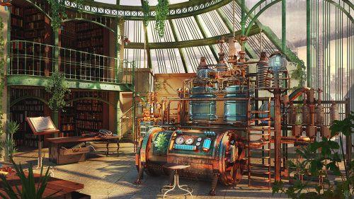 the alchemist laboratory alchemy lab ref fantasy magic