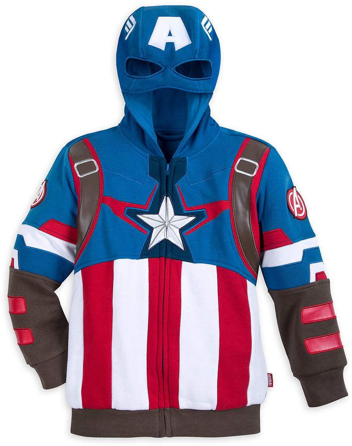 15bb9f0c801d Captain America Costume Hoodie for Boys  af