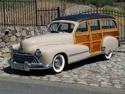 1948 Olds Woody Wagon.