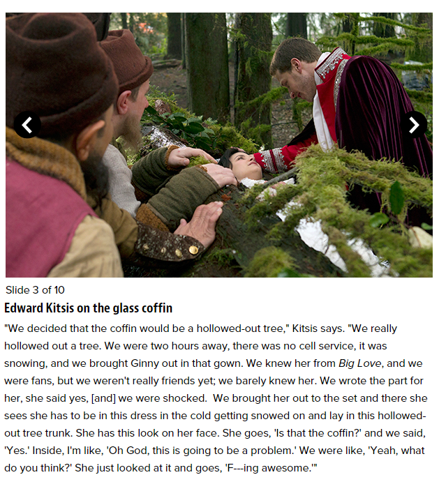 Edward Kitsis - Once Upon a Time cast reveals memories ...