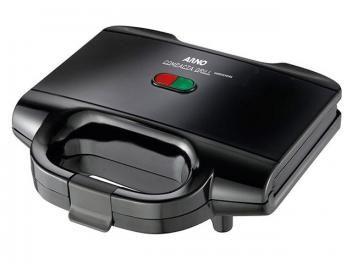 Sanduicheira Arno Compacta Grill 700W - Antiaderente Preto Alça Fria