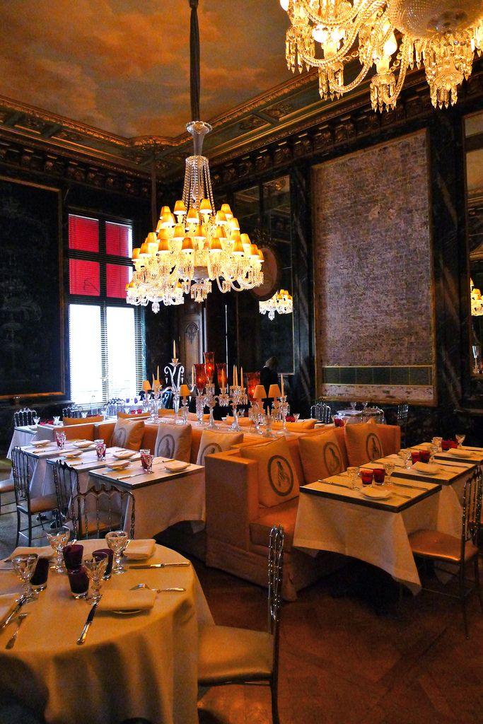 Cristal Room Baccarat Hotel Interiors Paris Hotels Baccarat