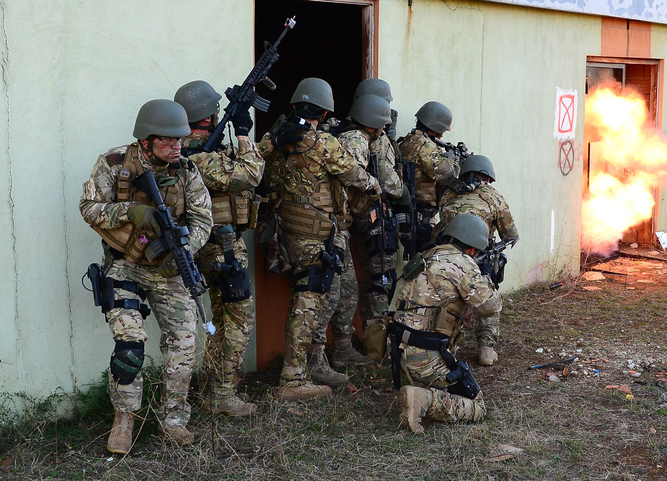 Turkish Navy special operations forces operators [2126 x