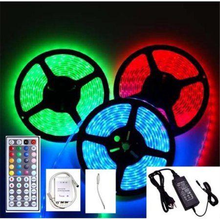 Led Light Strips Walmart Led2020 Ldsprgbset Plugnplay Indoor Color Changing Led Flexible