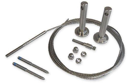 Tension Wire Trellis Kit Vine Support Struture Wire