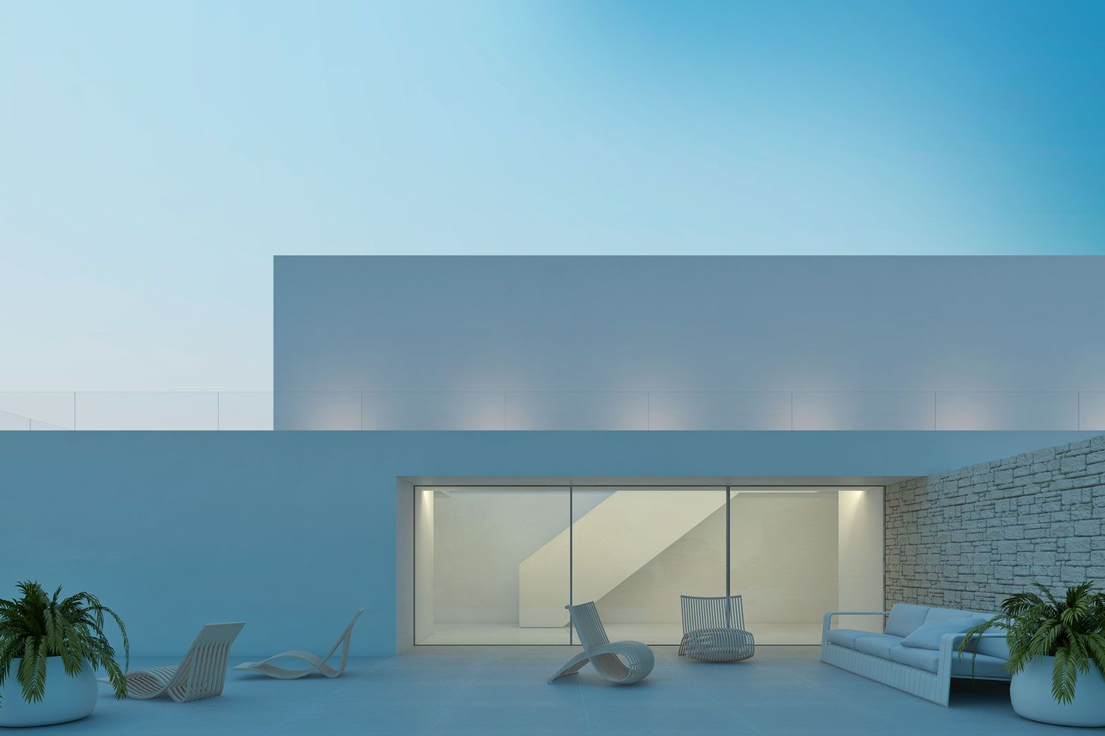3d visual effects vivienda unifamiliar ibiza - Arquitectos ibiza ...