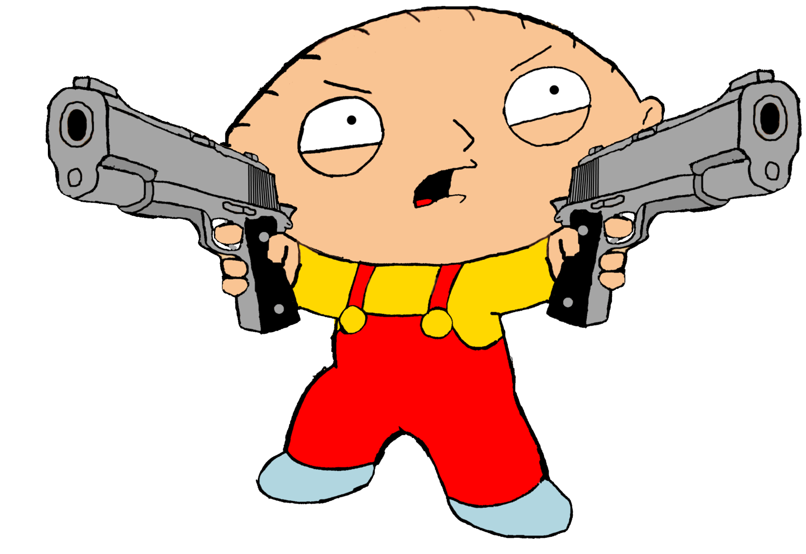 Guy Characters With Guns Guy Wallpaper Family Guy Stewie And