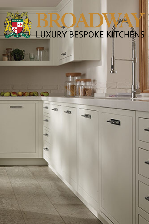 Photo of Hand Painted Shaker Kitchen – Handmade Bespoke Kitchen by Broadway   London og …