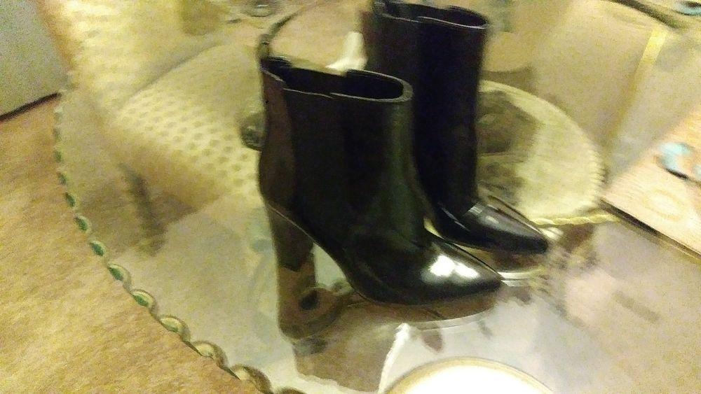 d97a2d7e7a7 Black Patent Leather Boots #fashion #clothing #shoes #accessories ...