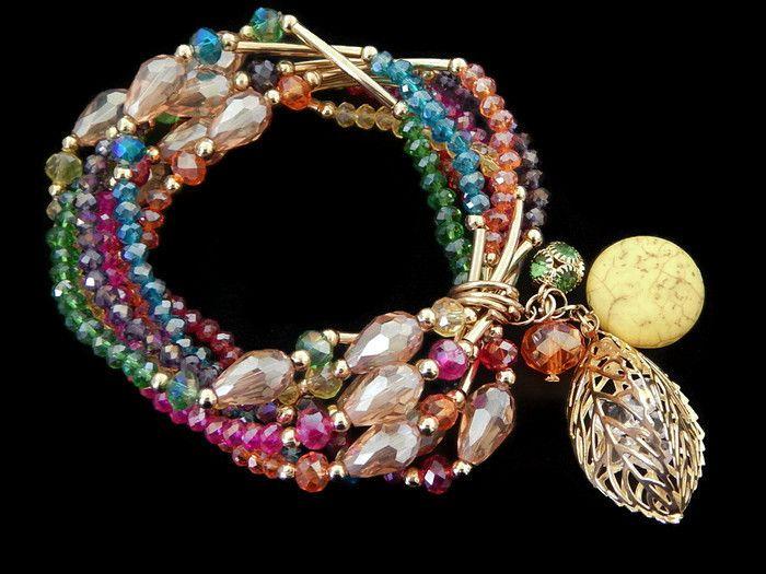 cfe5afb3b3e2 SAR3D -01 Hermoso Semanario de chapa de oro 14k y cristal gota y dije  especial