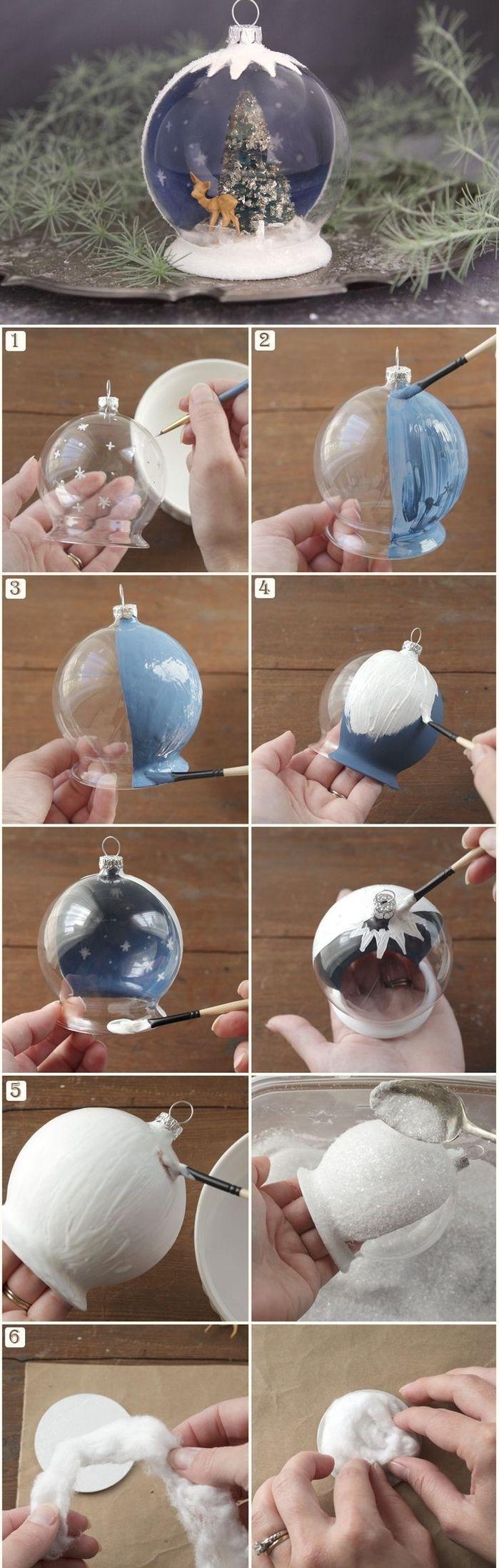 1001 id es comment fabriquer une boule neige cet hiver. Black Bedroom Furniture Sets. Home Design Ideas