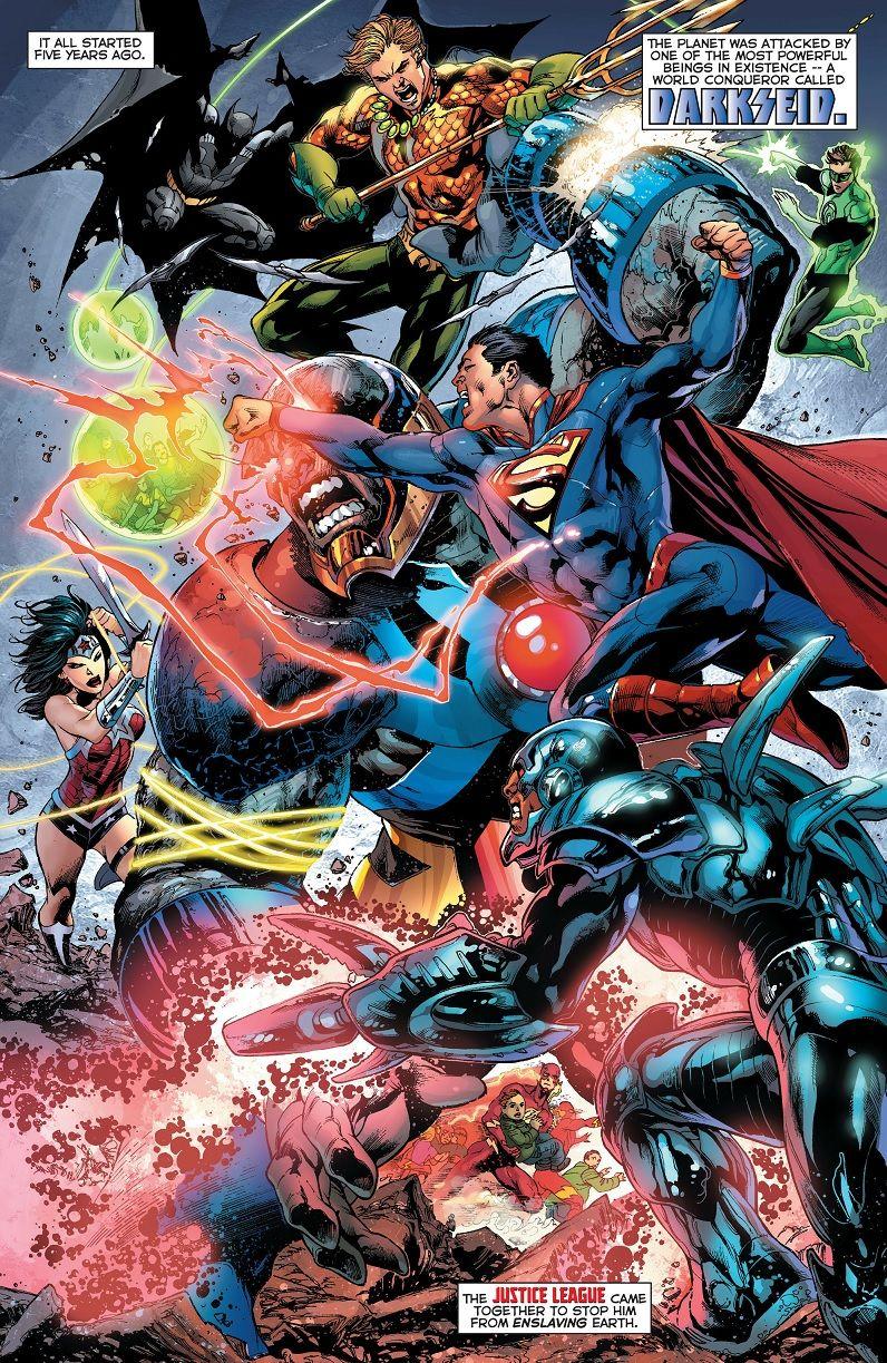 Comic Panels Justice League Comics Darkseid Comics