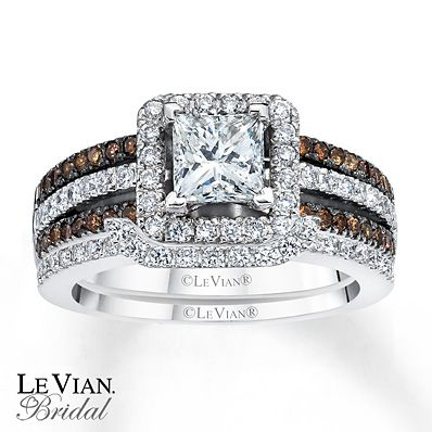 Wish I Could Find The One Lost Levian Chocolate Diamonds 1 5 8 Ct Tw Bridal Set 14k Gold 899