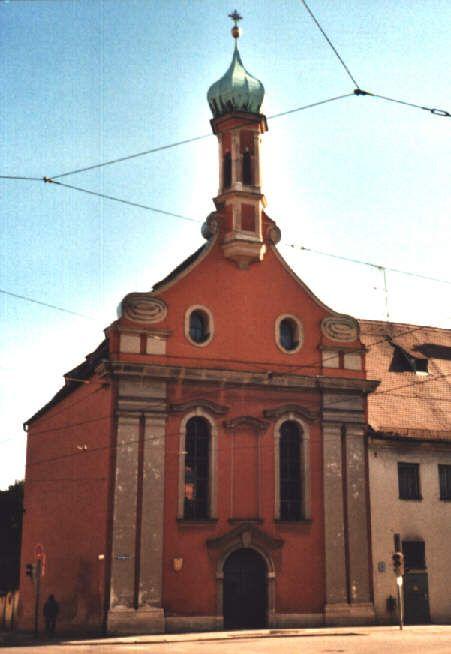 Kirche St Margareth In Augsburg Augsburg Kirchen Evangelische Kirche