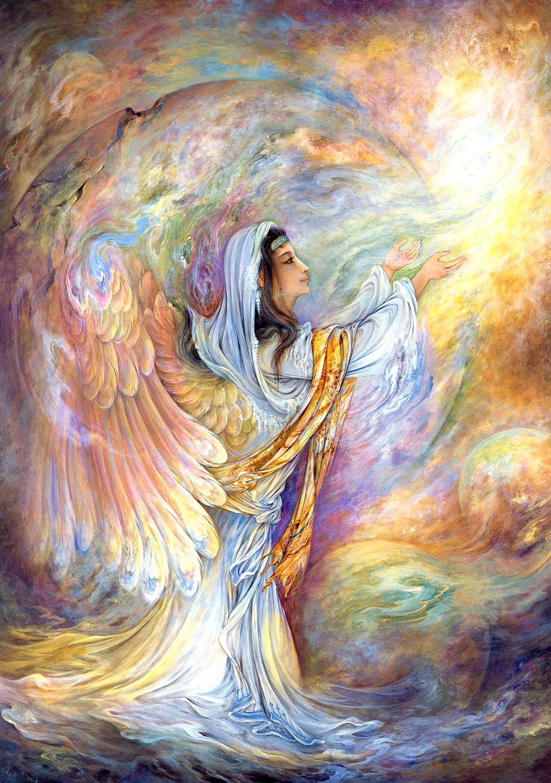 sounds of creation persian painting farshchian simurgh mahmoud farshchian