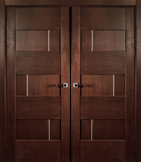 Modern Wood Interior Doors modern door | latest wooden main double door designs - native home