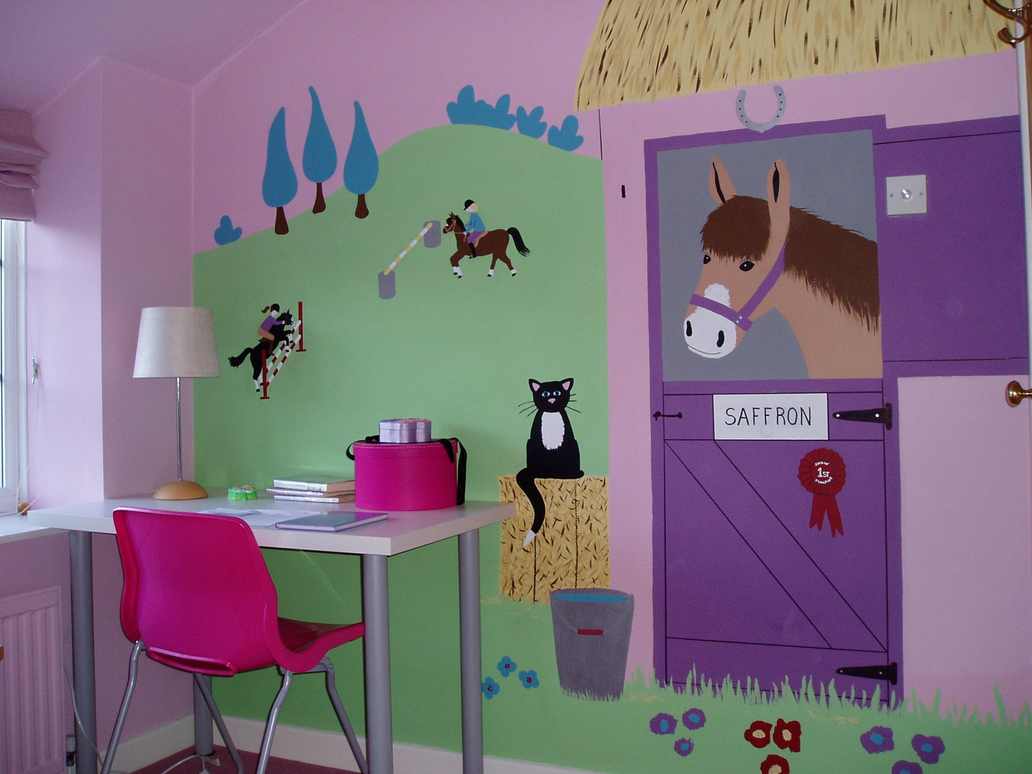Murales Camerette ~ Murales cameretta acquario muurschilderen