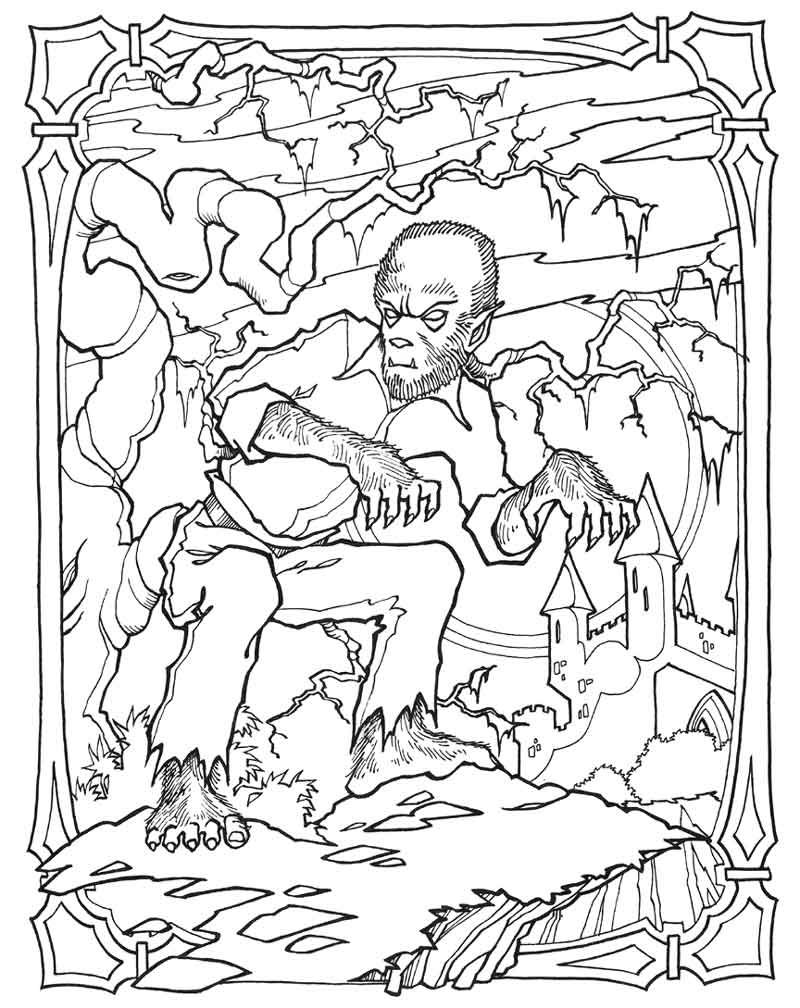 Science Fiction Coloring Pages Google Search Monster Coloring Pages Halloween Coloring Pages Cool Coloring Pages