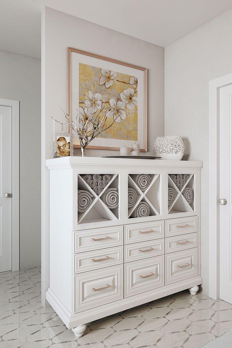 Waypoint bathroom cabinet, available: distinctlyu.com | Organization ...