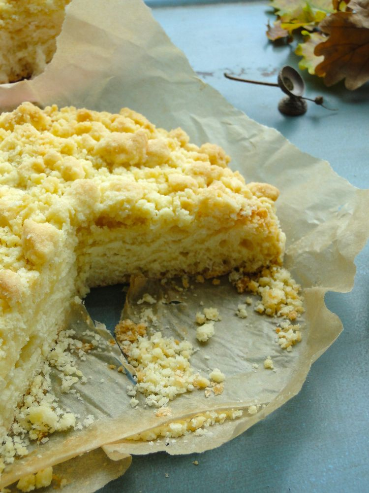 Streuselkuchen – crumble cake. | mamangerie
