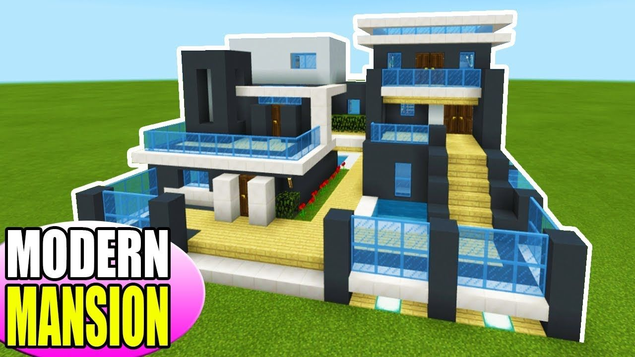 Minecraft Tutorial: How To Make A The Ultimate Modern House 2019