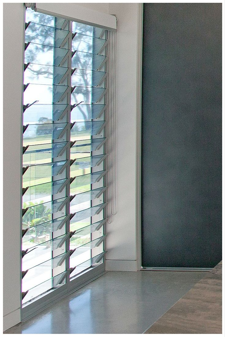 Wideline Louvre Windows offer controlled ventilation for ...