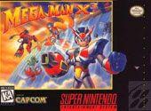Mega Man X3 Cover Art