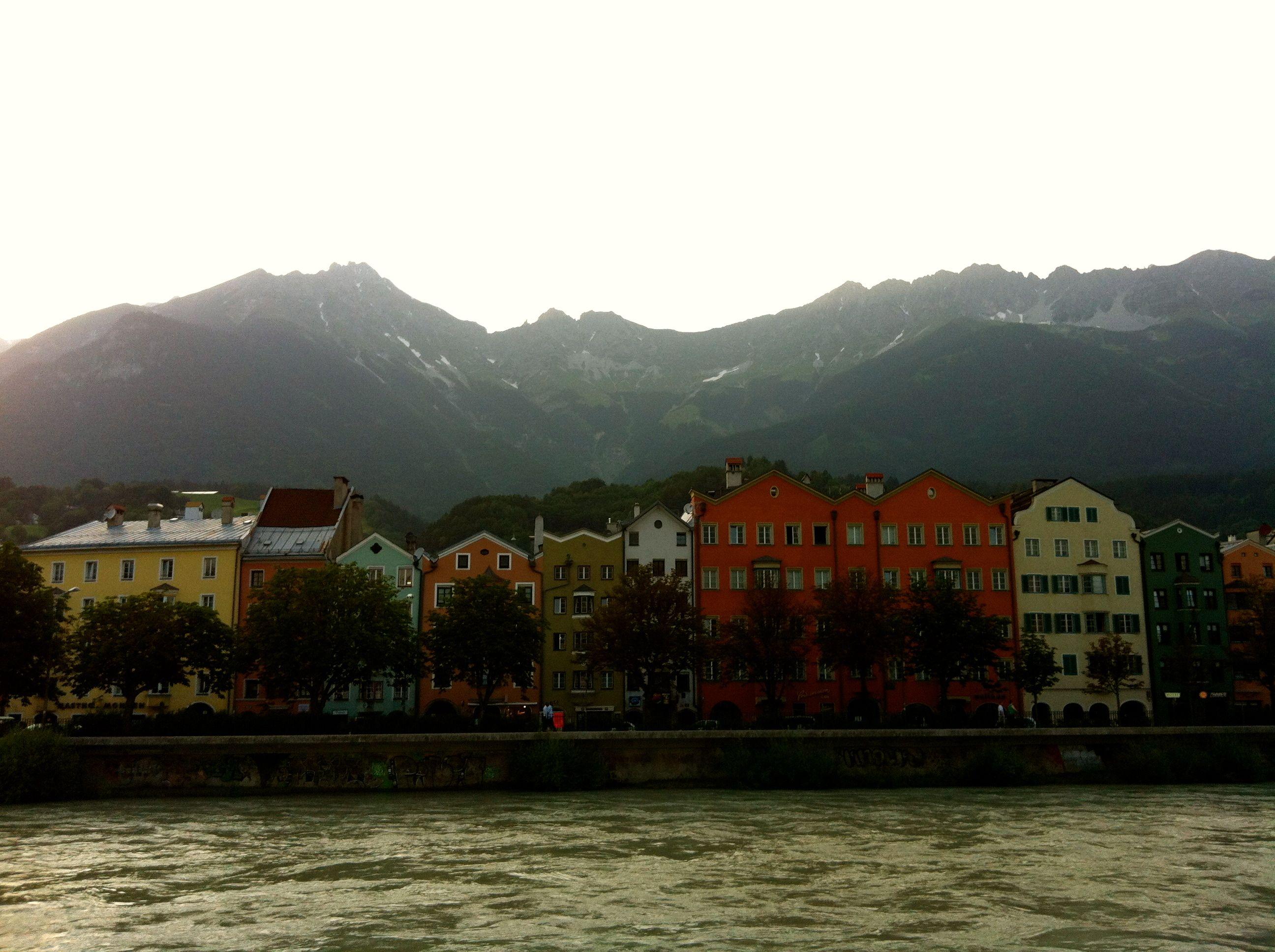 Innsbruck, Austria; alps