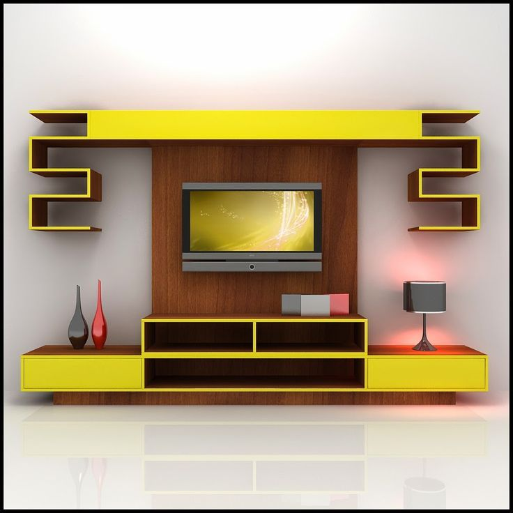 Image result for pinterest showcase with lcd   Modern tv ...