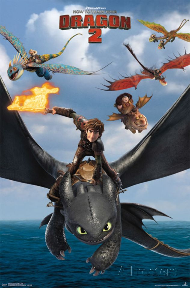 How To Train Your Dragon 2 Posters Allposters Com How To Train Your Dragon Poster Prints How Train Your Dragon