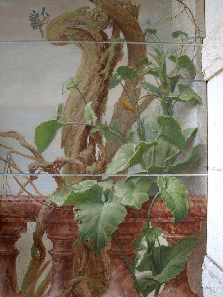 Ideas para decorar las paredes pintar un bonito mural - Ideas para pintar un piso ...