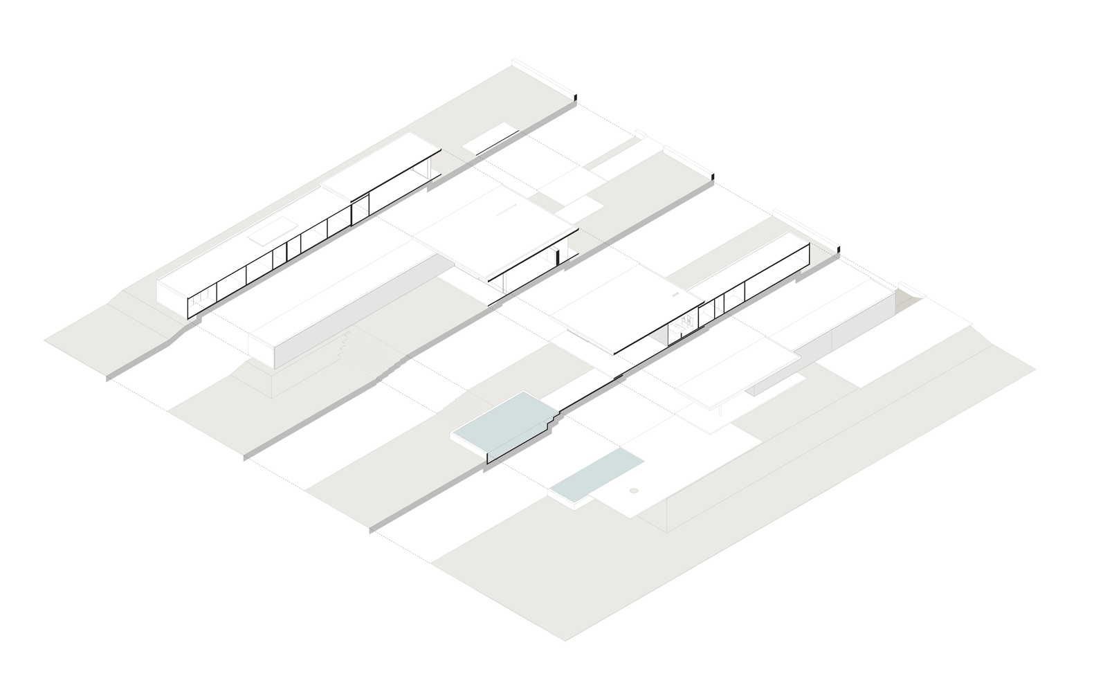 Gallery Of Mi Casa Studio Valeria Gontijo 23 In 2020 Axonometric Drawing Residential Gallery