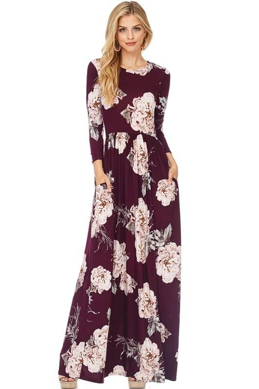 50894f6a75d9 Making Moves Long Sleeve Maxi Dress - The Laguna Room