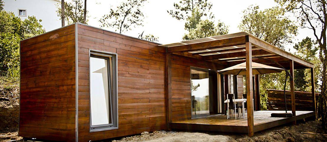 Projecto Bungalow Alcobaça : Casas rústicas por goodmood - soluções de habitações