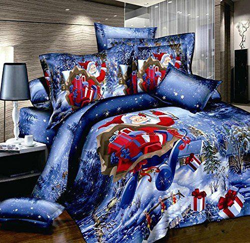 Cheerful Christmas Bedding Set Different Bedding Pinterest