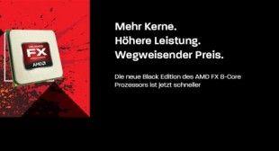 AMD bringt weltweit ersten 5Ghz 8-Core Prozessor auf den Markt