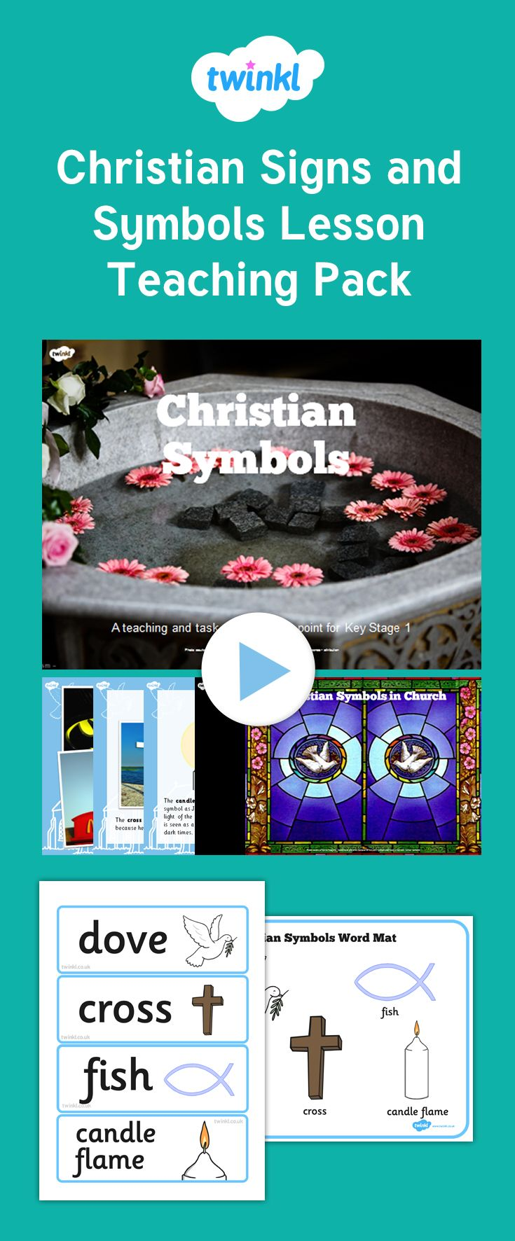 This lesson bundle helps children understand the different signs and this lesson bundle helps children understand the different signs and symbols in christianity and their significance buycottarizona Gallery